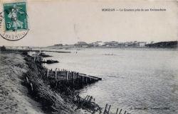 40 mimizan plage gare 1 gare en construction 1908