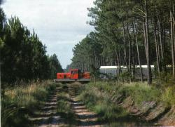 60 bb 207 entre pontenx et lue en 1988