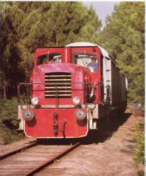 61 bb 207 se dirigeant vers labouheyre en juillet 1987