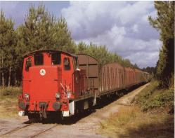 64 y 02 ramenant le dernier materiel en avril 1992