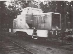 Laluque vfl 12 lt n 20 en gare de laluque en 1973